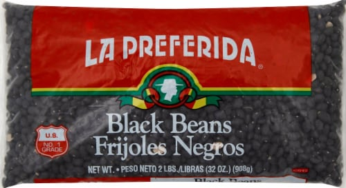 La Preferida Black Beans Perspective: front