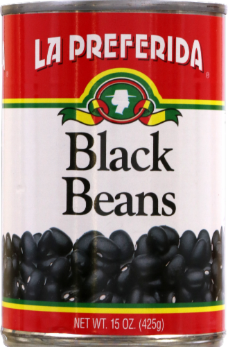 La Preferida Black Beans Perspective: front