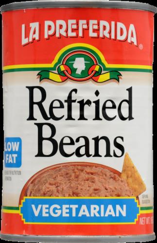 La Preferida Vegetarian Refried Beans Perspective: front