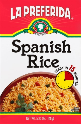 La Preferida Spanish Rice Perspective: front