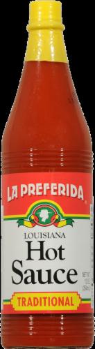 La Preferida Louisiana Style Hot Sauce Perspective: front