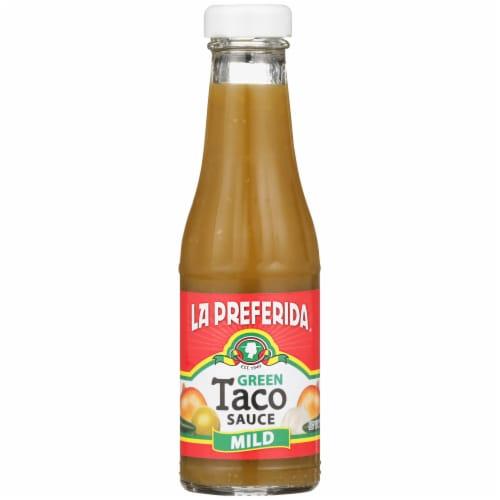 La Preferida Mild Green Taco Sauce Perspective: front