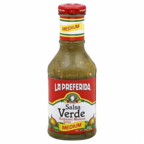 La Preferida Medium Salsa Verde Perspective: front
