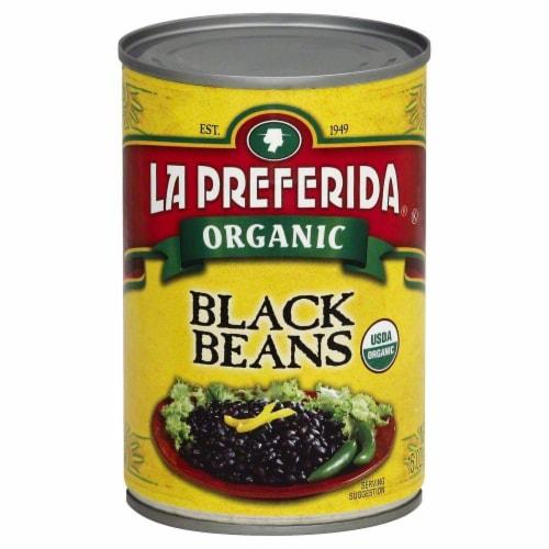La Preferida Organic Black Beans Perspective: front