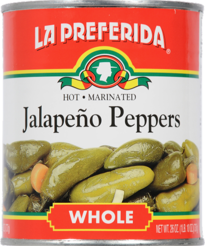 La Preferida Whole Jalapeno Peppers Perspective: front