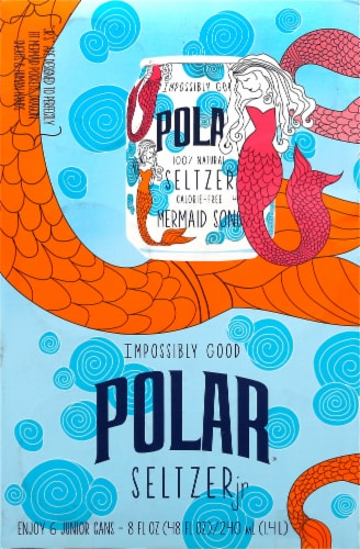 Polar Mermaid Songs Seltzer Jr. Perspective: front