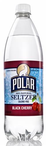 Polar Black Cherry Seltzer Water Perspective: front