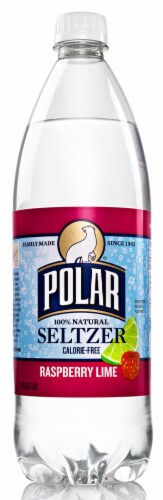 Polar Raspberry Lime Seltzer Sparkling Water Perspective: front