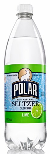 Polar Lime Seltzer Water Perspective: front