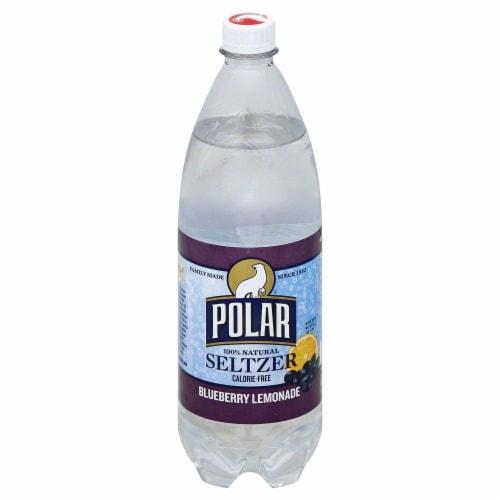 Polar Blueberry Lemonade Seltzer Perspective: front
