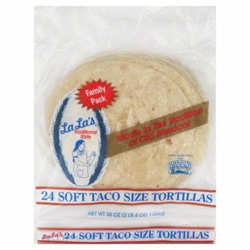 Lala Soft Taco Tortillas Perspective: front