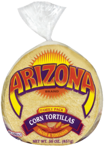 AriZona Corn Tortillas Perspective: front