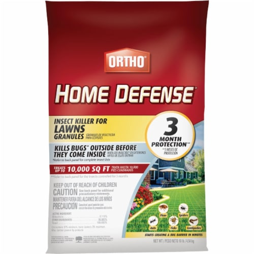 Ortho® Home Defense® Insect Killer For Lawns Granules Perspective: front