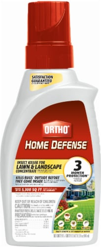 Ortho® Home Defense® Lawn and Landscape Insect Killer Concentrate Perspective: front