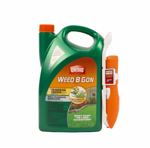 Ortho® Weed B Gon Ready-to-Use Weed Killer for Lawns with Comfort Wand Applicator Perspective: front