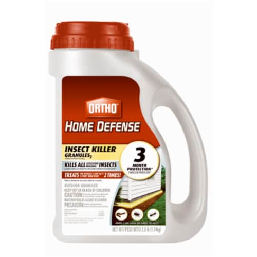 Scotts Ortho Roundup 187988 Home Defense Max Insect Killer Granules, 2.5 lbs Perspective: front