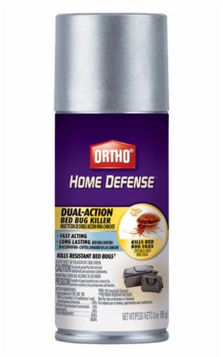Ortho Home Defense 3 Oz. Aerosol Spray Dual-Action Bedbug Killer Spray 0202310 Perspective: front