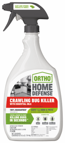 Ortho® Home Defense Crawling Bug Killer with Essential Oils Perspective: front