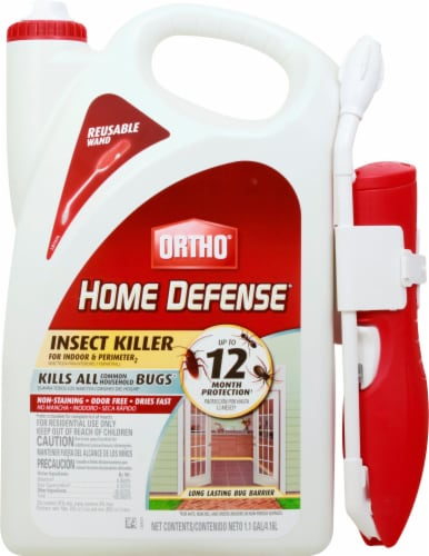 Ortho® Home Defense MAX Insect Killer for Indoor and Perimeter with Comfort Wand Perspective: front