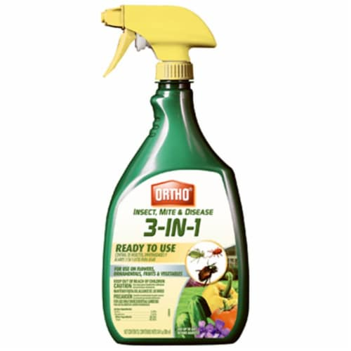 Scotts Ortho Roundup 0345510 24 oz.Ready To Use Insect Mite & Disease Killer Perspective: front