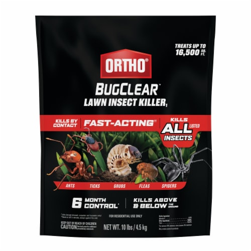 Ortho BugClear Lawn Insect Killer Perspective: front