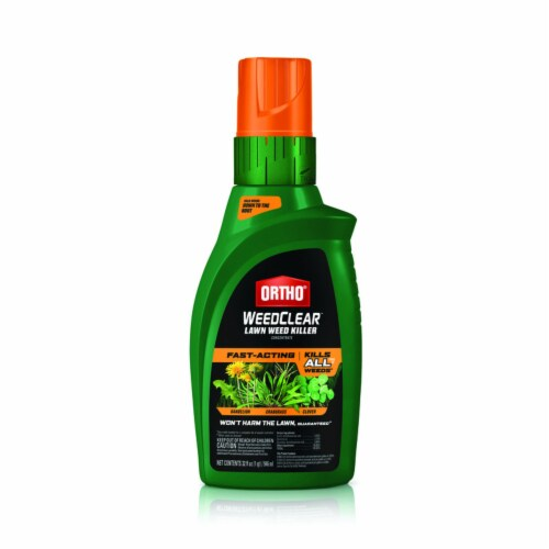 Ortho WeedClear 32 Oz. Concentrate Northern Lawn Weed Killer 0447905 Perspective: front