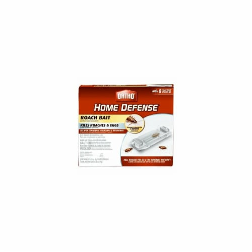 Scotts Ortho Roundup 217231 Home Defense Roach Bait - Pack of 8 Perspective: front