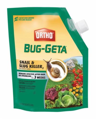 Ortho Bug-Geta 2 Lb. Ready To Use Pellets Slug & Snail Killer 0474510 Perspective: front