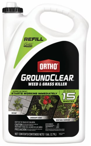Ortho® GroundClear Weed & Grass Killer Refill Perspective: front