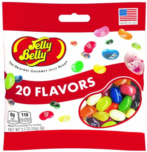 Jelly Belly 20 Flavors Jelly Beans Perspective: front