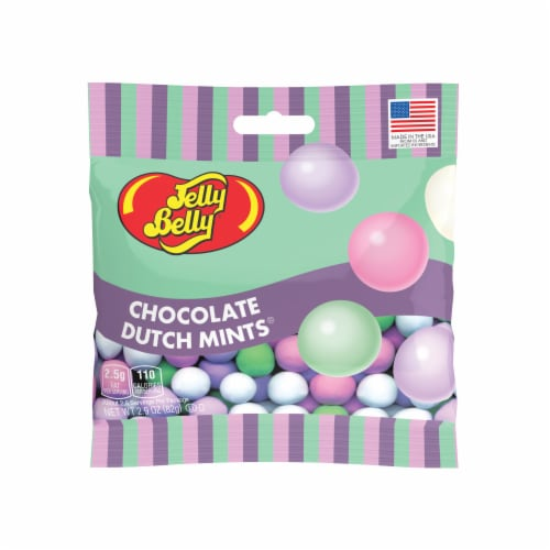 Jelly Belly Chocolate Dutch Mints Perspective: front