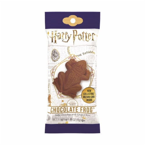 Harry Potter Milk Chocolate Frog Perspective: front