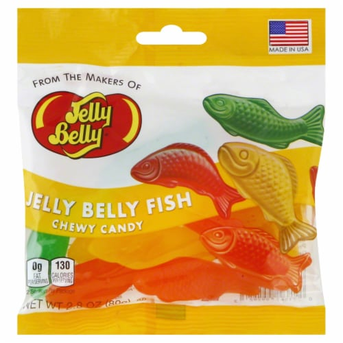 Jelly Belly Chewy Fish Perspective: front