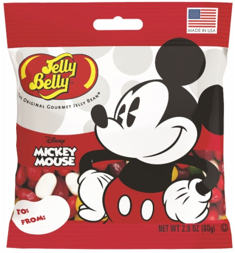 Jelly Belly Mickey Mouse Jelly Beans Perspective: front