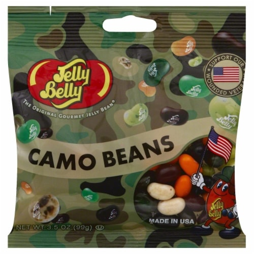 Jelly Belly Camo Beans Perspective: front