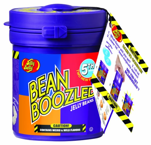 Jelly Belly BeanBoozled Jelly Bean Mystery Jar Perspective: front
