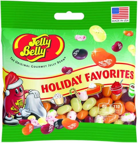 Jelly Belly Holiday Favorites Jelly Beans Perspective: front