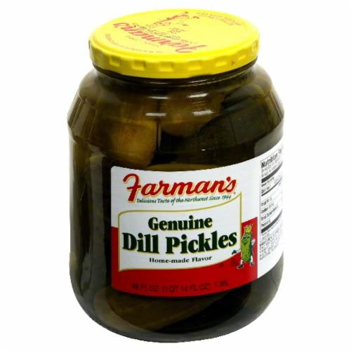 Farman's Genuine Dill Pickles Perspective: front