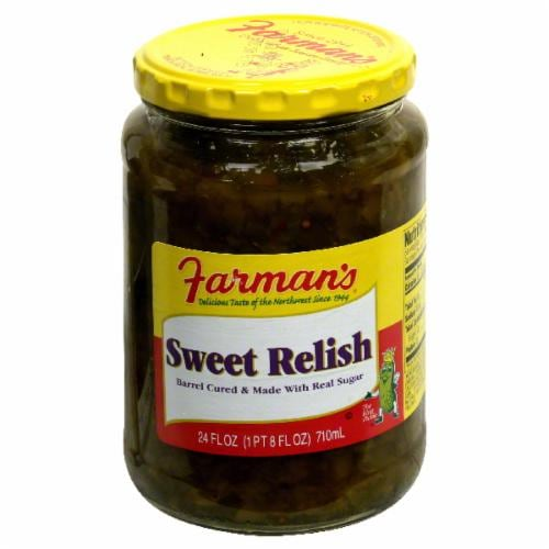 Farman's Sweet Relish Perspective: front