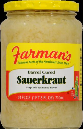 Farman's Sauerkraut Perspective: front
