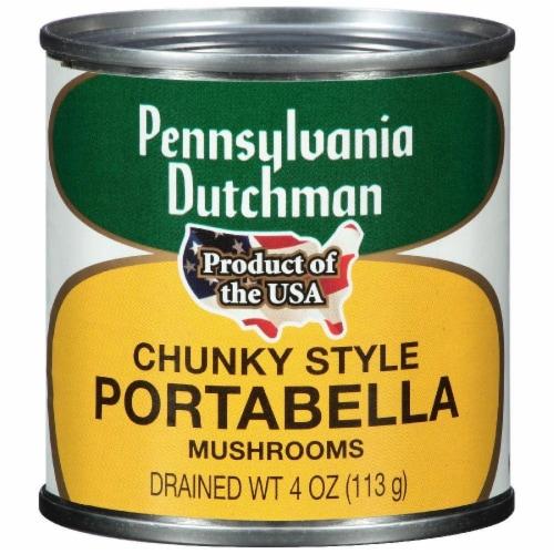 Pennsylvania Dutchman Chunky Style Portabella Mushrooms Perspective: front