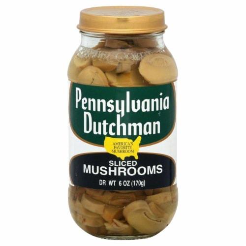 Pennsylvania Dutchman Sliced Mushrooms Perspective: front