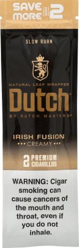 Dutch Masters Irish Fusion Creamy Cigarillos Perspective: front