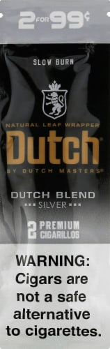 Dutch Masters Silver Dutch Blend Cigarillos Perspective: front