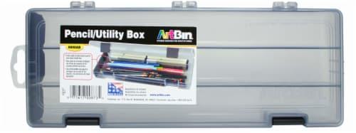 Artbin Pencil Utility Box - Gray Perspective: front