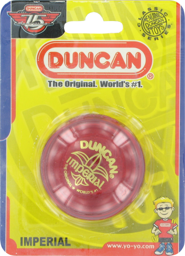 Duncan Imperial Yoyo Perspective: front