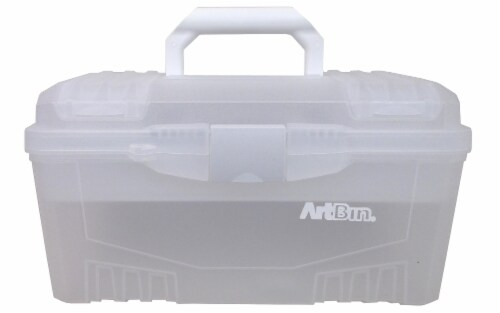 ArtBin Essentials Box Lift Out Tray Twin Top Perspective: front