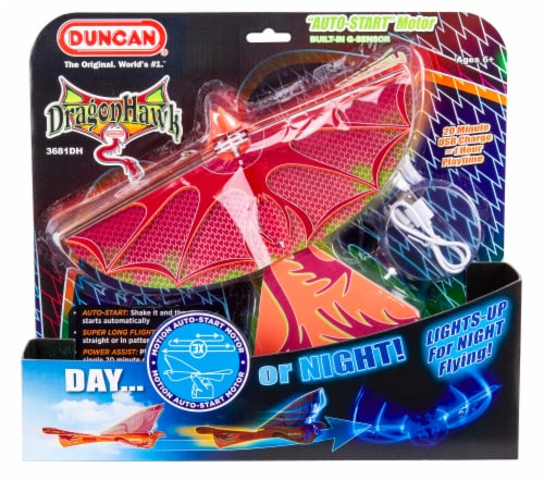 Duncan Dragon Hawk Light Up Motorized Toy Perspective: front