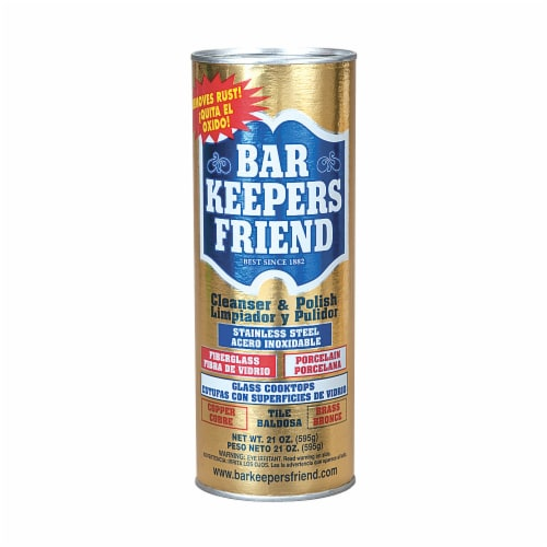 Bar Keepers Friend Powdered Cleanser, 21 Oz Can 11514 Perspective: front