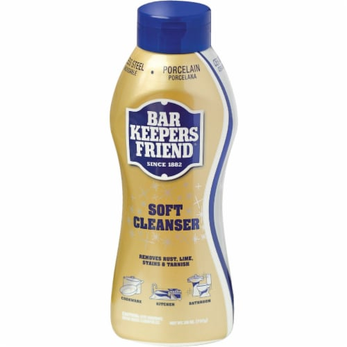 Bar Keepers Friend Soft Cleanser Perspective: front